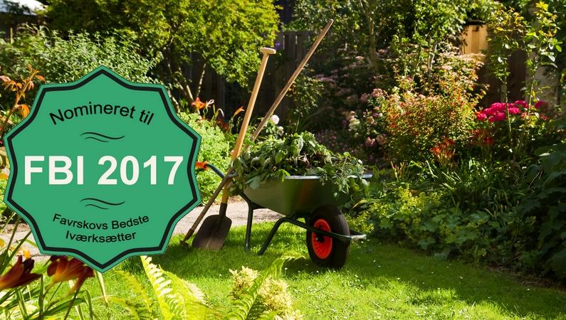 Hus og Have Hjælpen er nomineret til Favrskovs Bedste Iværksætter 2017