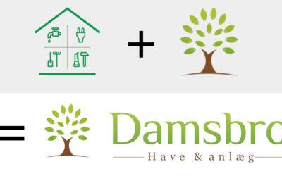 Hus og Have Hjælpen bliver til Damsbro Have & Anlæg