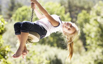Sådan gøres haven mere børnevenlig